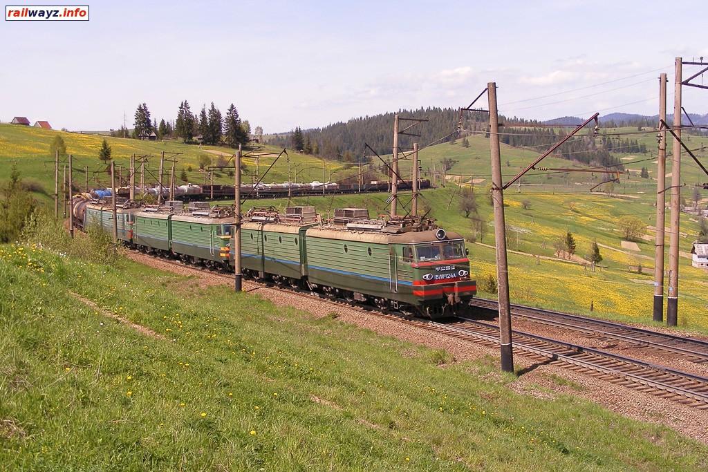 Сплотка электровозов ВЛ11М с