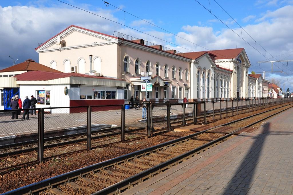 Вокзал, станция Винница.