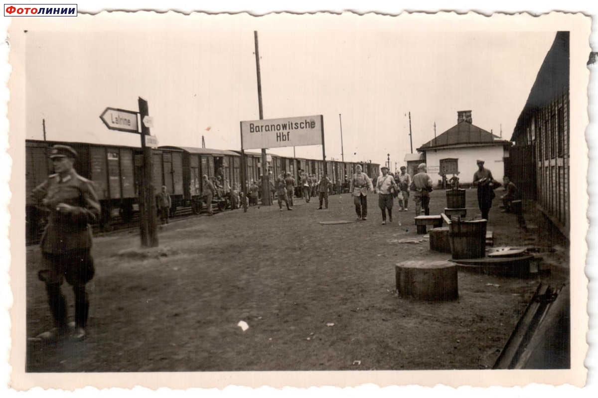 Станция, станция Барановичи Центральные