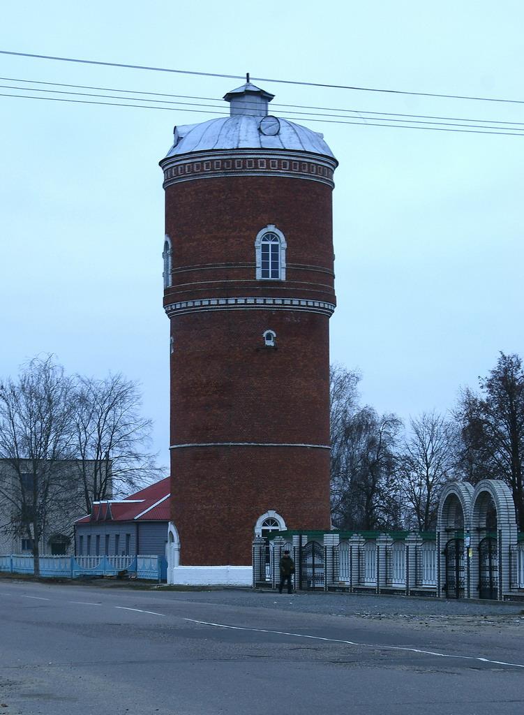 Рославль башня водонапорная