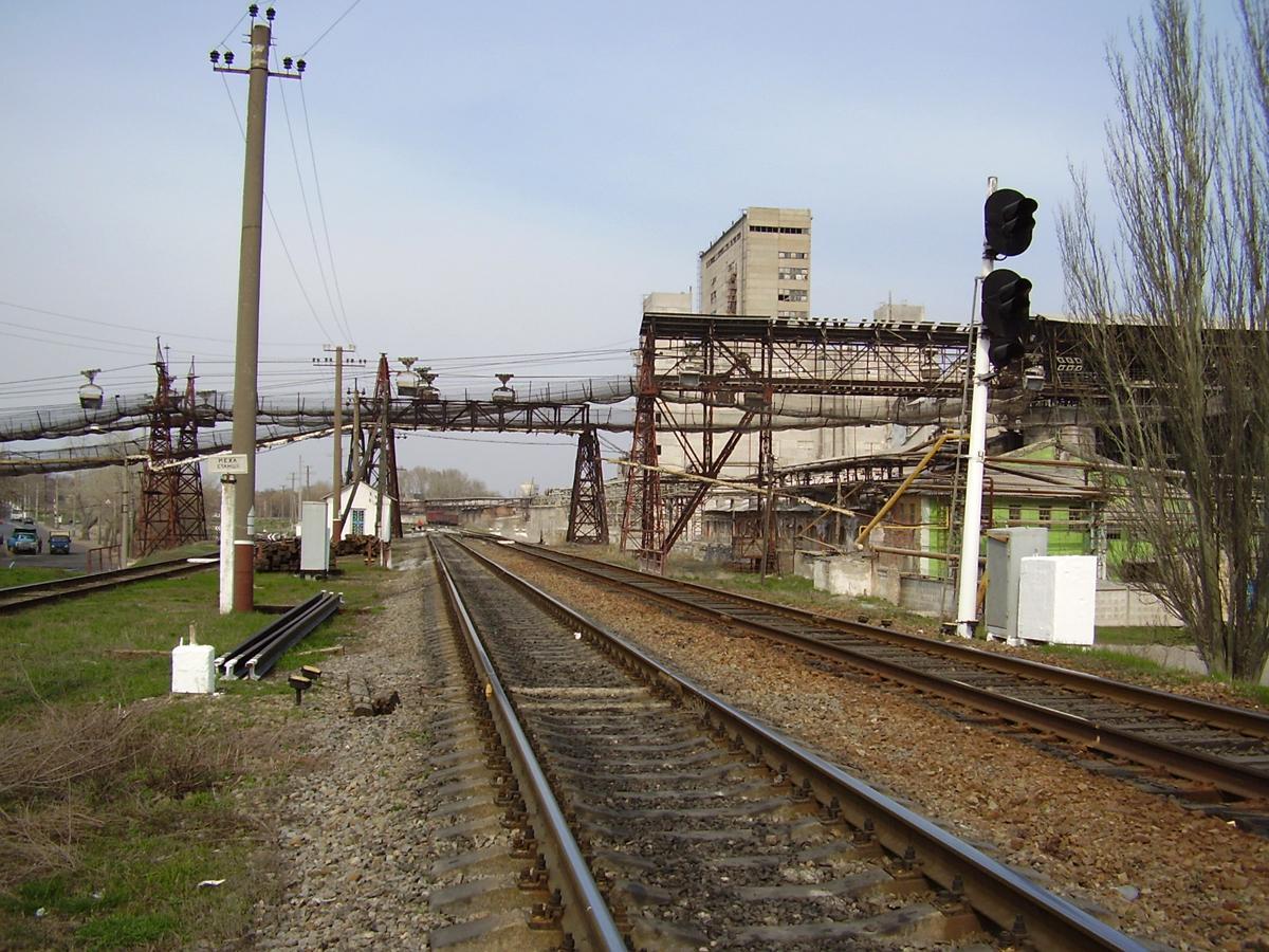 В мае 2015 г на железнодорожной станции дубово, расположенной на территории харьковской области