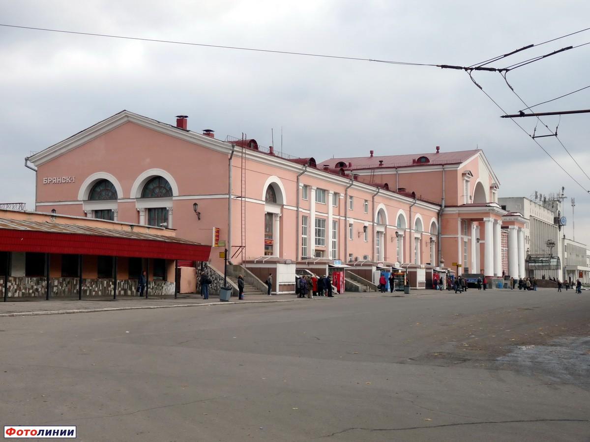Картинки вокзала брянск