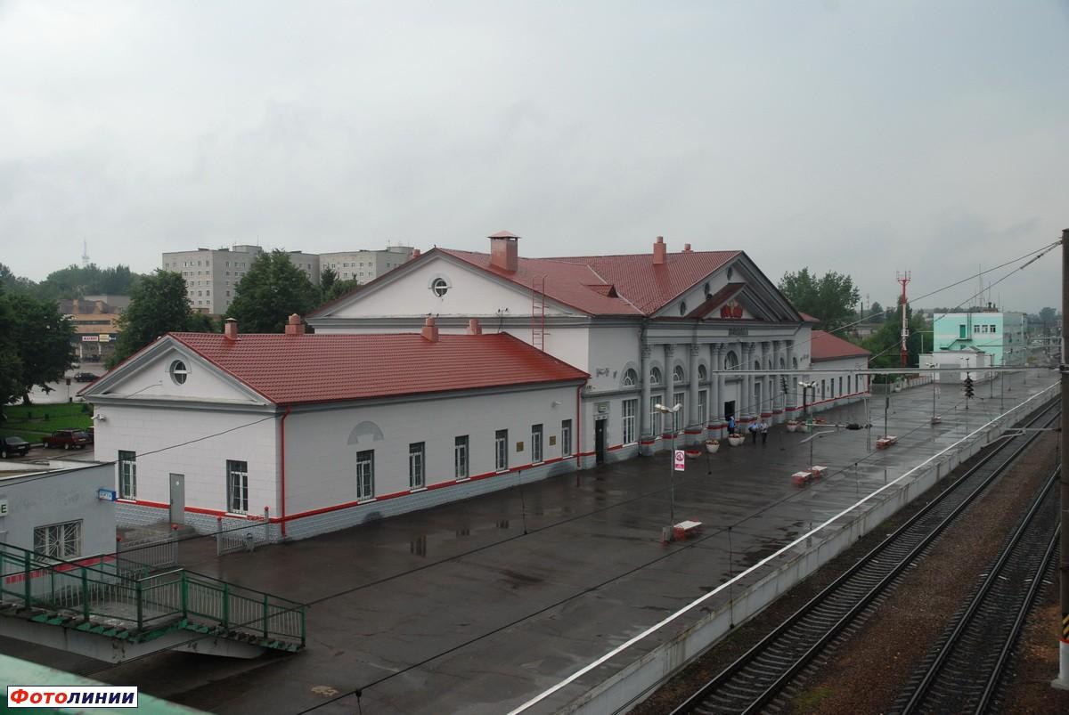 Фото железнодорожной станции вязьма