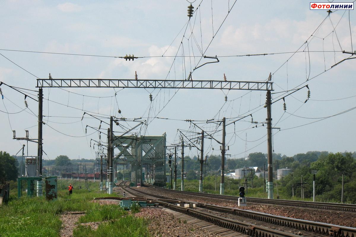 Фото железнодорожной станции ярцево